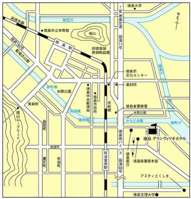 グランヴィリオ地図